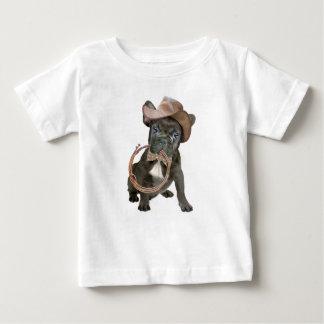 Camiseta Para Bebê Menino de país do BULDOGUE FRANCÊS
