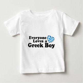 Camiseta Para Bebê Menino grego