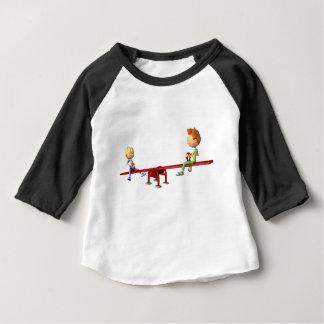 Camiseta Para Bebê Meninos dos desenhos animados que têm o