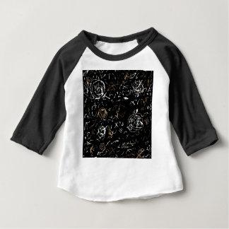 Camiseta Para Bebê Mente abstrata - marrom