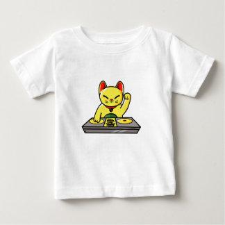 Camiseta Para Bebê Meow-sician