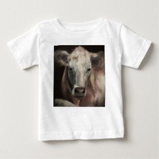 Camiseta Para Bebê Mercadoria da vaca do charolês