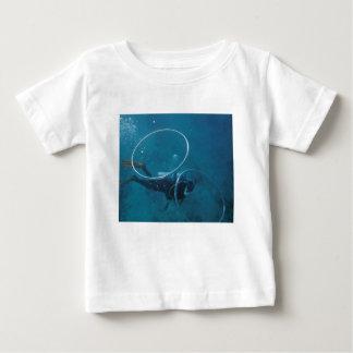 Camiseta Para Bebê Mergulhador de mergulhador