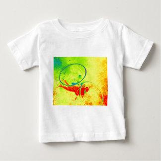 Camiseta Para Bebê Mergulhador de mergulhador de Havaí