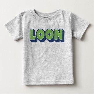 Camiseta Para Bebê Mergulhão-do-norte, dialecto Doric, menino,
