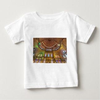 Camiseta Para Bebê Mesquita azul Istambul