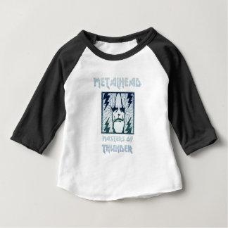 Camiseta Para Bebê Mestrado do trovão