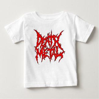 Camiseta Para Bebê Metal da morte