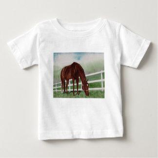 Camiseta Para Bebê Meu cavalo