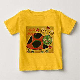 Camiseta Para Bebê meu lil amaldiça o tshirt do joaninha