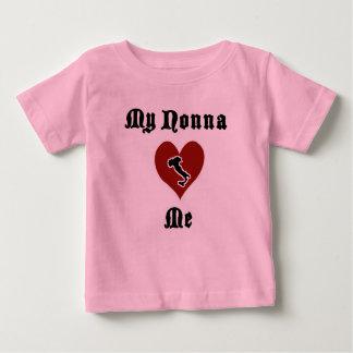 Camiseta Para Bebê Meu Nonna ama-me t-shirt da criança