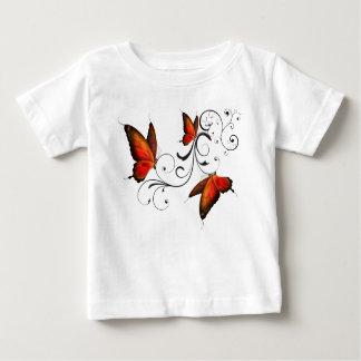 """Camiseta Para Bebê """"Meu pai é T de um herói"""""""