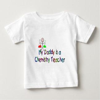 Camiseta Para Bebê Meu pai é um professor da química