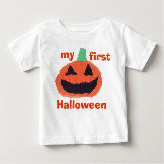 Camiseta Para Bebê Meu primeiro Dia das Bruxas