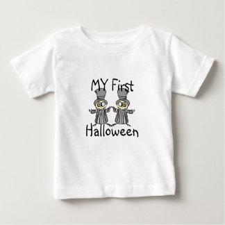Camiseta Para Bebê Meu primeiro Dia das Bruxas - personalizado