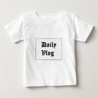 Camiseta Para Bebê Meu primeiro merch de YouTube