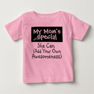 Camiseta Para Bebê Meu Special da mãe (....................)