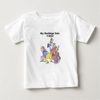 Camiseta Para Bebê Meu t-shirt da venda de garagem