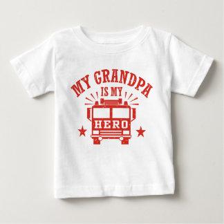 Camiseta Para Bebê Meu vovô é meu herói
