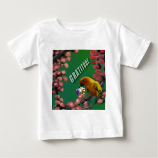 Camiseta Para Bebê Meus obrigados mais profundos a você
