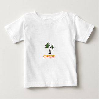 Camiseta Para Bebê Miami Florida.