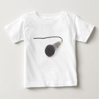 Camiseta Para Bebê Microfone do estúdio