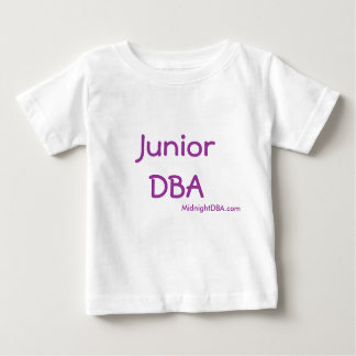 Camiseta Para Bebê MidnightDBA: DBA júnior