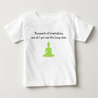 Camiseta Para Bebê Milhares de T do bebê das encarnações