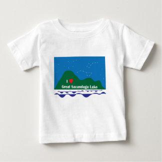 Camiseta Para Bebê Mim coração GSL