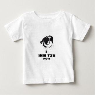 Camiseta Para Bebê mim design do futz do shah não