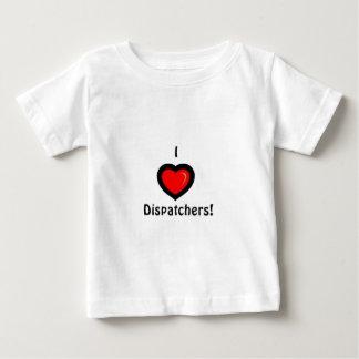 Camiseta Para Bebê Mim expedidores do coração