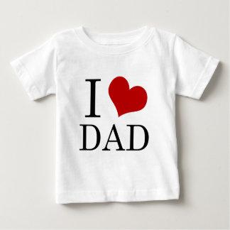 Camiseta Para Bebê Mim pai do coração (pai do amor de I)