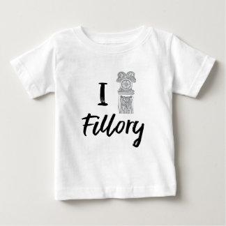 Camiseta Para Bebê Mim (pulso de disparo) Fillory