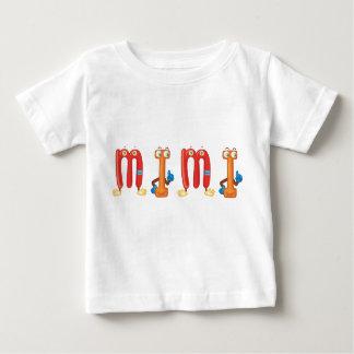Camiseta Para Bebê Mimi t-shirt do bebê