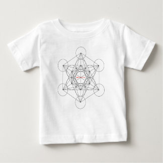 Camiseta Para Bebê minha caixa é… O cubo de Metatron