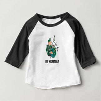 Camiseta Para Bebê minha herança