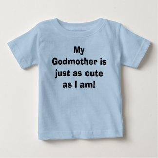 Camiseta Para Bebê Minha madrinha é apenas tão bonito como eu sou!