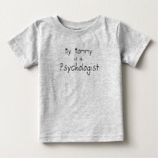 Camiseta Para Bebê Minha mamãe é um psicólogo