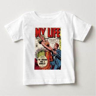 Camiseta Para Bebê Minha vida
