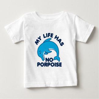 Camiseta Para Bebê Minha vida não tem nenhuma toninha