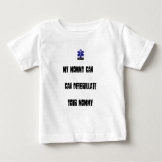 Camiseta Para Bebê Minhas mamães podem Defibrilliate suas mamães