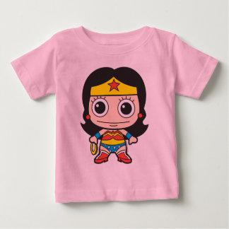 Camiseta Para Bebê Mini mulher maravilha