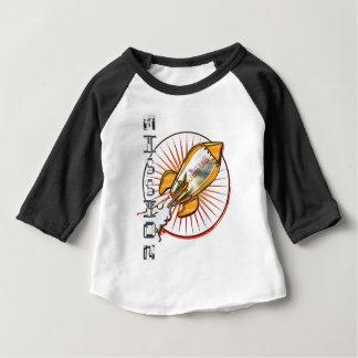 Camiseta Para Bebê Missão Jesus um