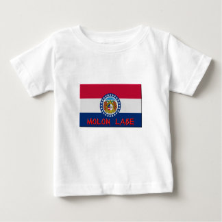Camiseta Para Bebê Missouri Molon Labe