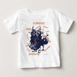 Camiseta Para Bebê mistério
