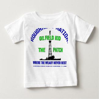 Camiseta Para Bebê MIÚDO de OilIELD o remendo