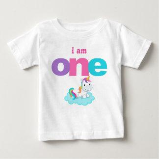 Camiseta Para Bebê Miúdo do bebê da criança do t-shirt do primeiro