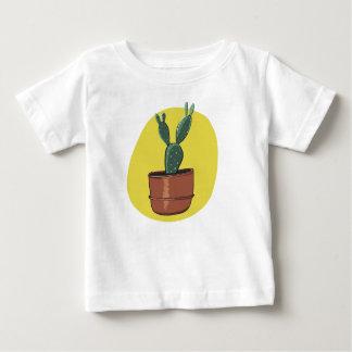 Camiseta Para Bebê Miúdo do cacto