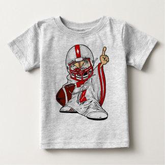 Camiseta Para Bebê Miúdo do futebol