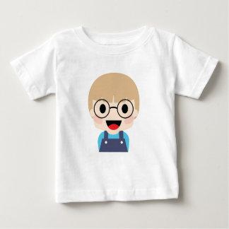 Camiseta Para Bebê Miúdo do gênio com olhos grandes